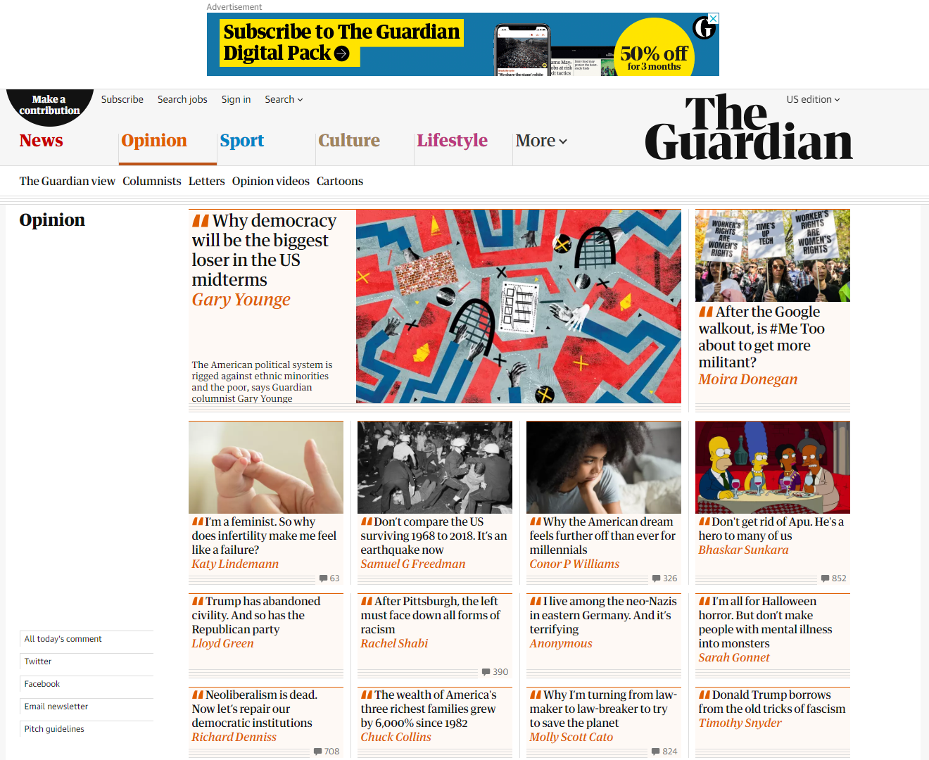 The Guardian screenshot