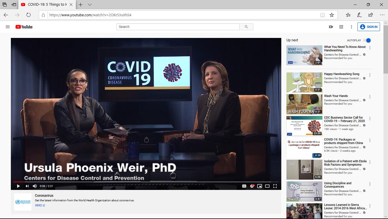 YouTube fact checks CDC doctor