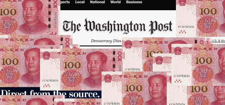 Picture of Washington Post Paid Yuan 2016 Elections Interference