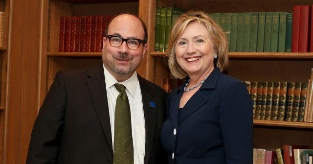 Craig Newmark with Hillary Rodham Clinton