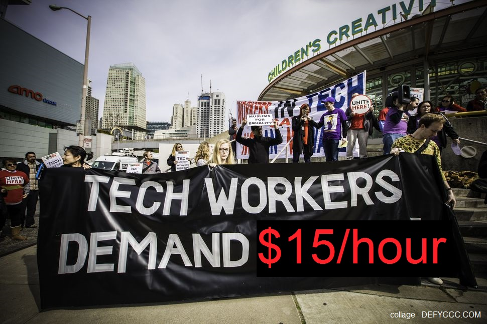 Dubious Tech Workers Protest in San Francisco